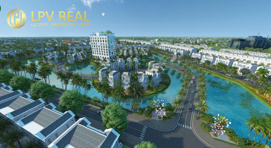 phối cảnh khu hoàng gia - Hưng Định City